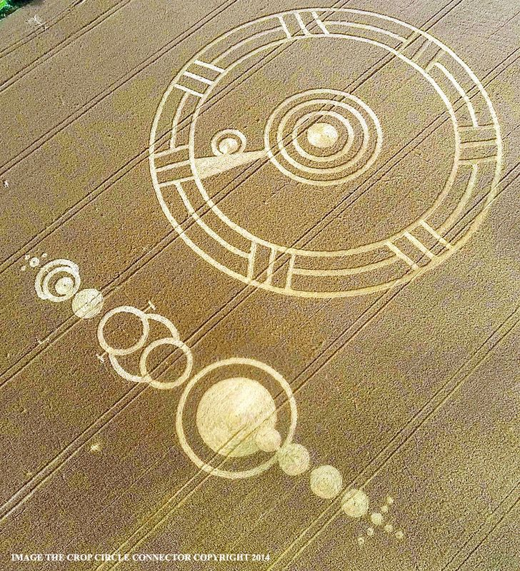 """Zetas (And Crop Circles) Say Earth And Nibiru Magnetic Fields, Now """"Clashing And Touching"""" ...Is """"The Event"""" Now Here? 