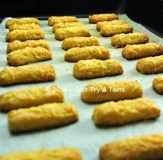 Just Try & Taste: Kastangel: Si Gurih Renyah dengan Cita Rasa Keju yang Nendang ^_^