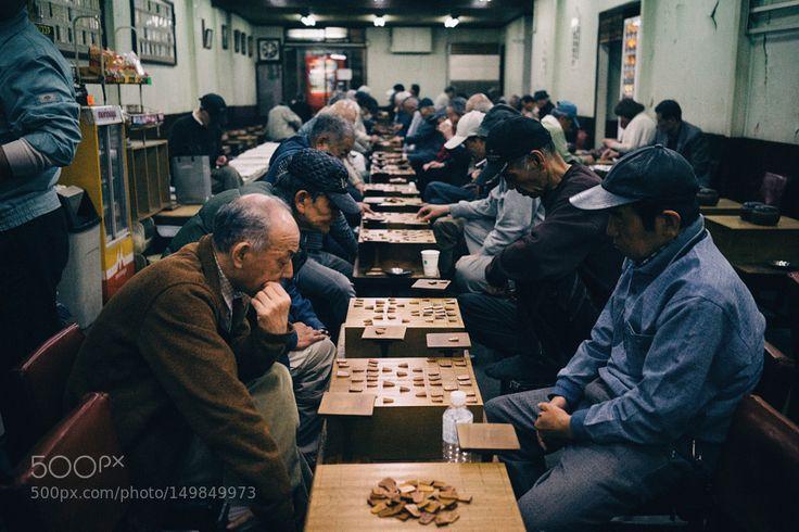 Japanese chess by mitsuru_wakabayashi