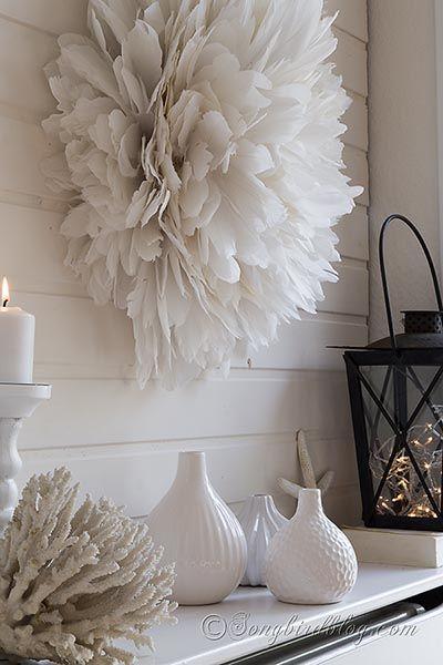 African white feathers juju hat DIY tutorial songbirdblog