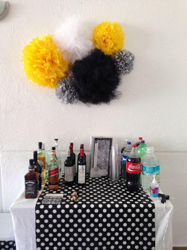Best 20 decoracion cumplea os hombre adulto ideas on - Ideas para cumpleanos adulto ...