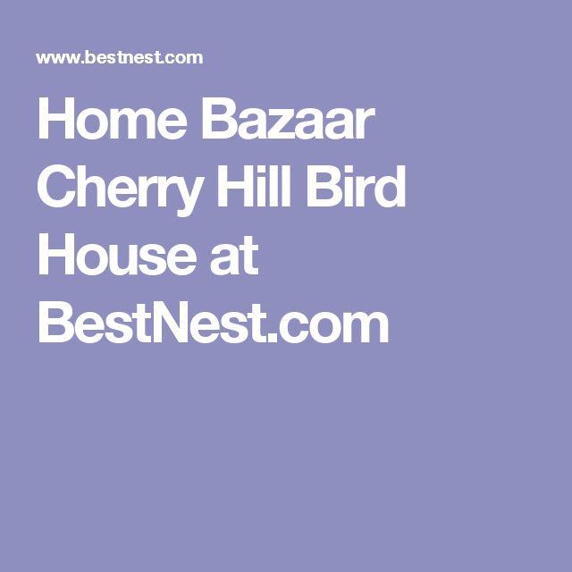 Home Bazaar Cherry Hill Bird House at BestNest.com