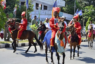 Equestrian Royal Troops Of BIMA