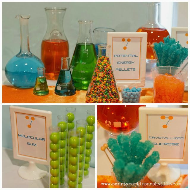 Agency+D3+Pinterest | Smarty Parties: Smart and Sassy Science Party