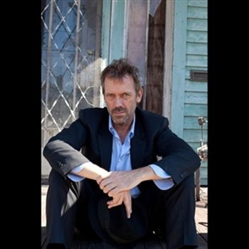 Hugh Laurie. Possibly even a better blues singer than actor.