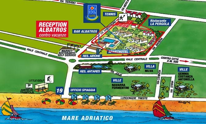 Lignano Sabbiadoro Albatros Feriendorf Aparthotel Residences Villen