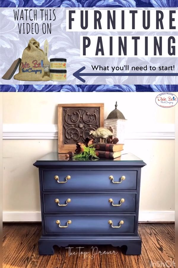 Watch this video on furniture painting and learn everything that you will need to start a new artistic hobby for pieces in your home!