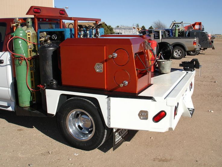 2011 Bramco Welding Utility Flatbed Pickup Trucks | Bramco Inc. FAIRVIEW, OK #Welding Bed