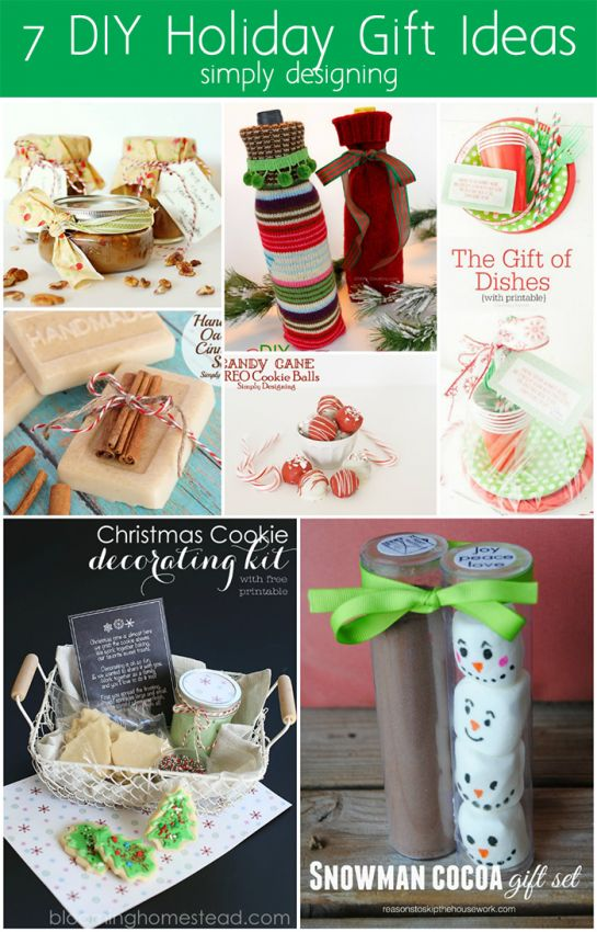 7 DIY Holiday Gift Ideas | Simply Designing