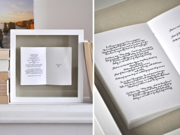Wedding Vows Poem Framed Picture Wedding Pinterest Framed Pictures We