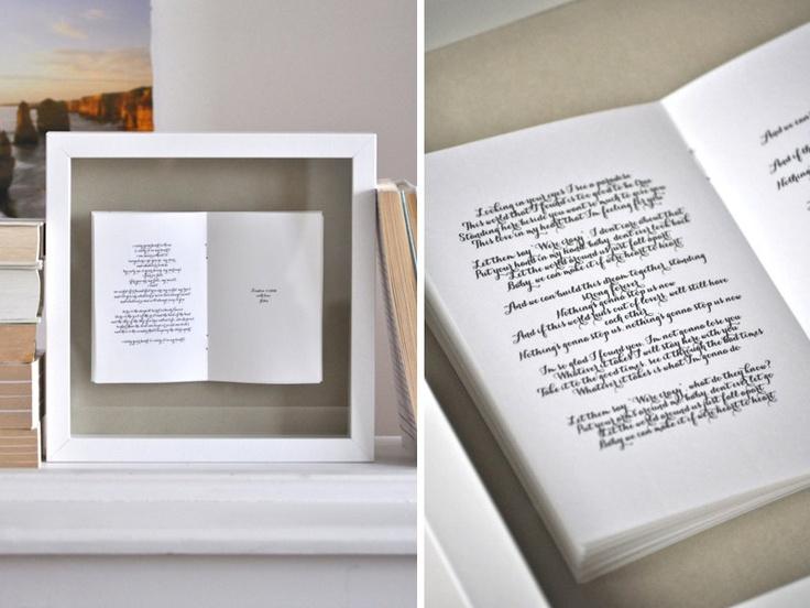Wedding Vows Poem Framed Picture Wedding Pinterest Framed Pictures We