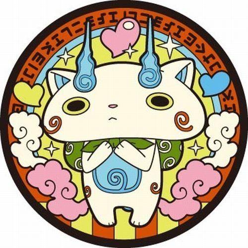 Yokai Watch Komasan Rubber Coaster from Japan Limited Free Shipping