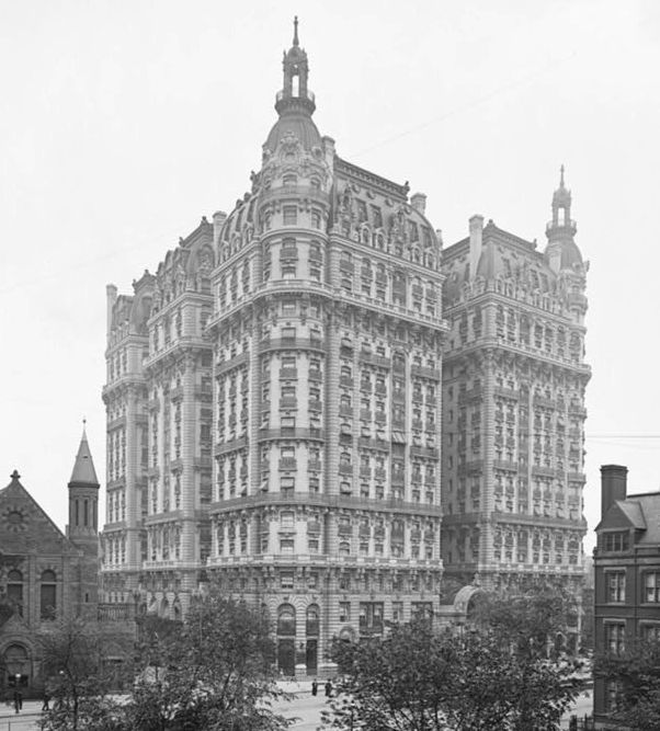 The Ansonia Is A Building On The Upper West Side Of New