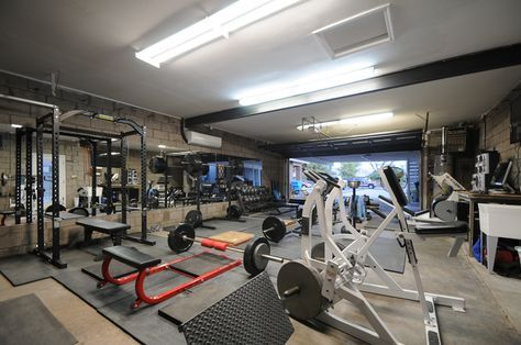 garage gym idea with images  dream home gym basement