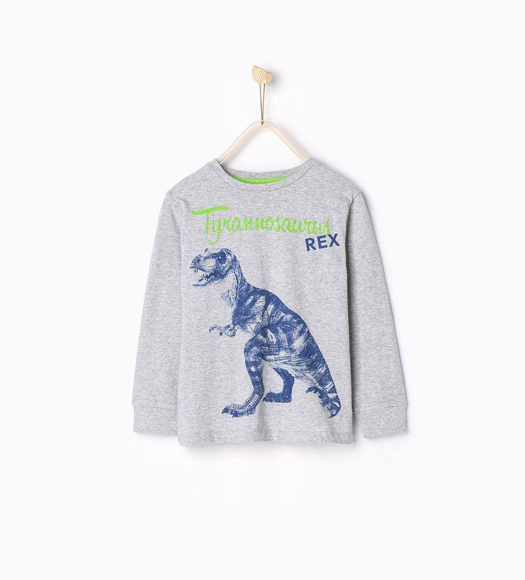 Image 2 of Dinosaur pajamas from Zara