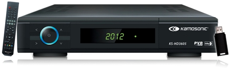 KS-HD3605 KAMOSONIC RECEIVER
