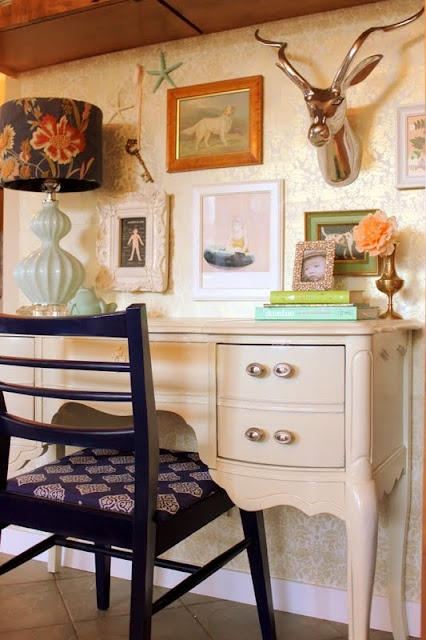 ...House Tours, Deer Head, Work Spaces, Desks, Glasses Boxes, Gallery Wall, Offices Nooks, Diy Projects, House Decor