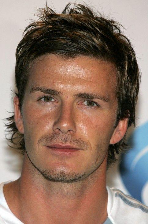 David Beckham Layered Messy Hairstyle: Stylish Male ...