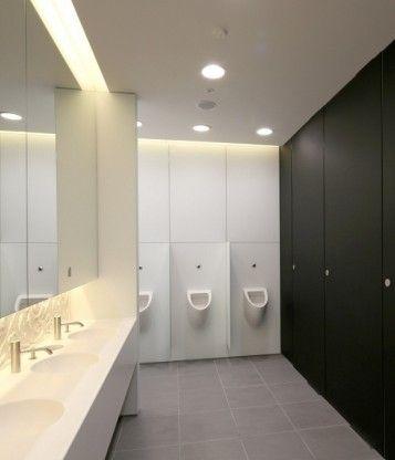 office washroom design. washroom carves out new beginning for office design