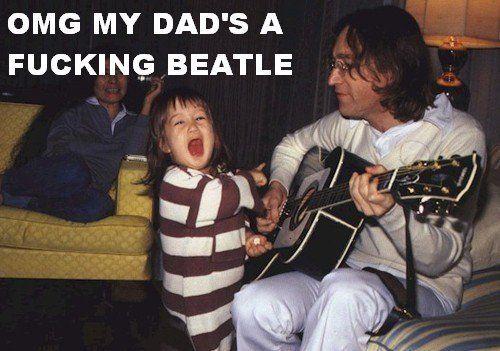 Beatle dad