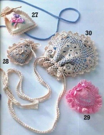 Accessoires décoratifs et leurs grilles gratuites , au crochet ! - Le blog de Anne