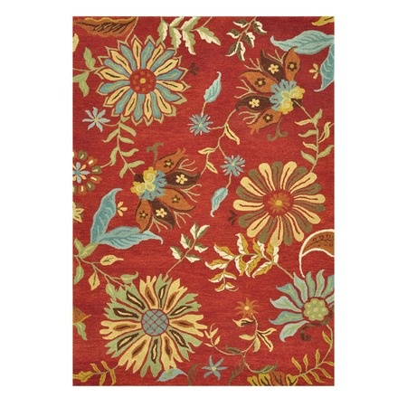 I pinned this Caroline Rug in Red from the Beverly Rug Company event at Joss and Main!