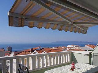 Camera matrimoniale Lustful con vista mare, balcone, aria condizionata, WIFI, Central - Apartment 2,5,6und 9 mit MeerblickCase vacanze in Makarska da @homeawayitalia
