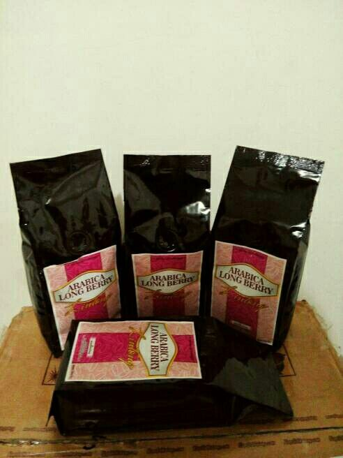 Arabica Longberry Lintong Coffee @ 250 gram only IDR 75,000 roasted bean. Indonesia Speciality Coffee.