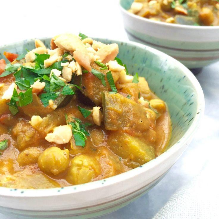 Kikkererwten curry met kokosmelk maken via @madebyellen