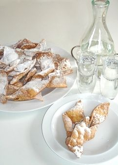 Polish Chrusciki ~ A Traditional Polish Cookie Recipe for Easter These are sooo delicious                                                                                                                                                     More