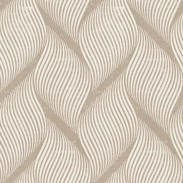 Tempaper Wave Almond Self Adhesive Removable Wallpaper Wa540 The Home Depot Removable Wallpaper Self Adhesive Wallpaper Wallpaper
