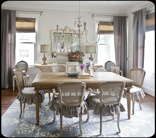 208 best images about my french farmhouse dining room on for Best farmhouse dining rooms