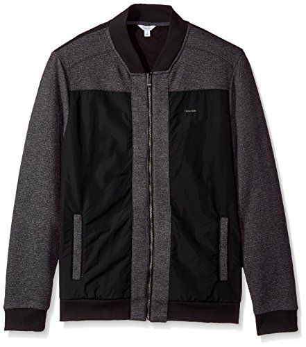 """Product review for Calvin Klein Men's Long Sleeve Contrast Fabric Blocked Full Zip Bomber.  This full zip knit features a bomber design and contrasting fabric blocking.       Famous Words of Inspiration...""""Proverbs are always platitudes until you have personally experienced the truth of them.""""   Aldous Huxley — Click here for more..."""