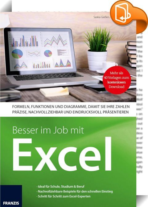 Better in the job with Excel: Whether school, study or job-numbers for processing are everywhere. For large numbers you come to a table …