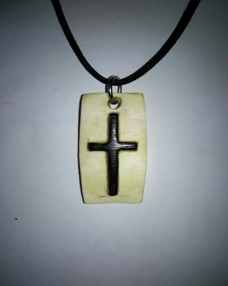 Cross , Wood , Handmade ,Walnut , jewelry , Ξύλινος , Σταυρός , Λαιμού , Καρύδια .