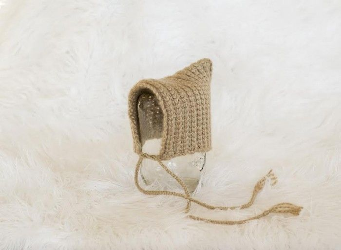 Textured Pixie Bonnet - Free #Crochet Pattern by Melodys ...