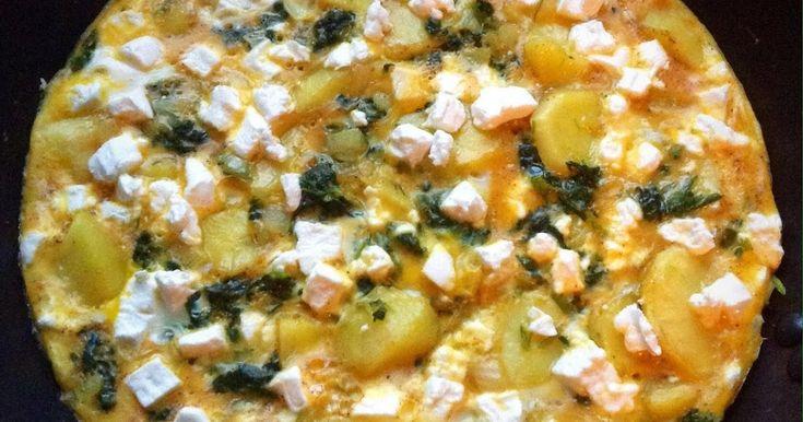 Gewoon Lekker Koken: Frittata met aardappel en spinazie