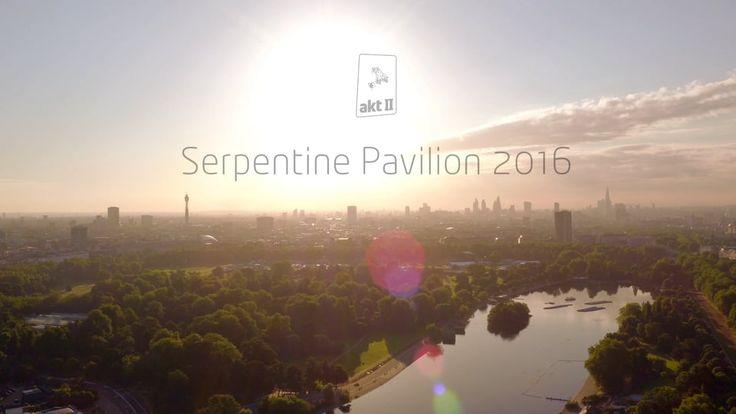 The Serpentine Pavilion 2016 on Vimeo