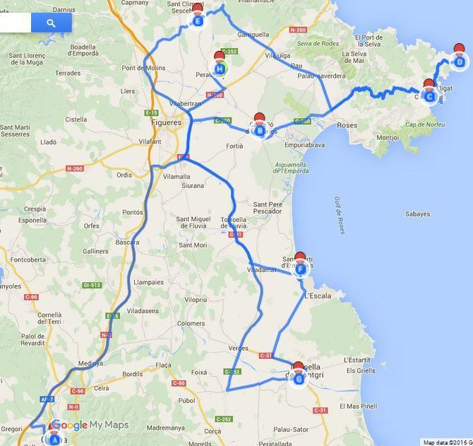 Itinerario http://www.thegirlwiththesuitcase.com/2016/07/itinerario-di-viaggio-costa-brava.html