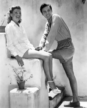 Louis Jourdan and wife Berthe (nicknamed Quique) childhood sweethearts who were married almost *sixty* years (she passed away in 2014; he on Feb 14 of this year, both in their 90s).