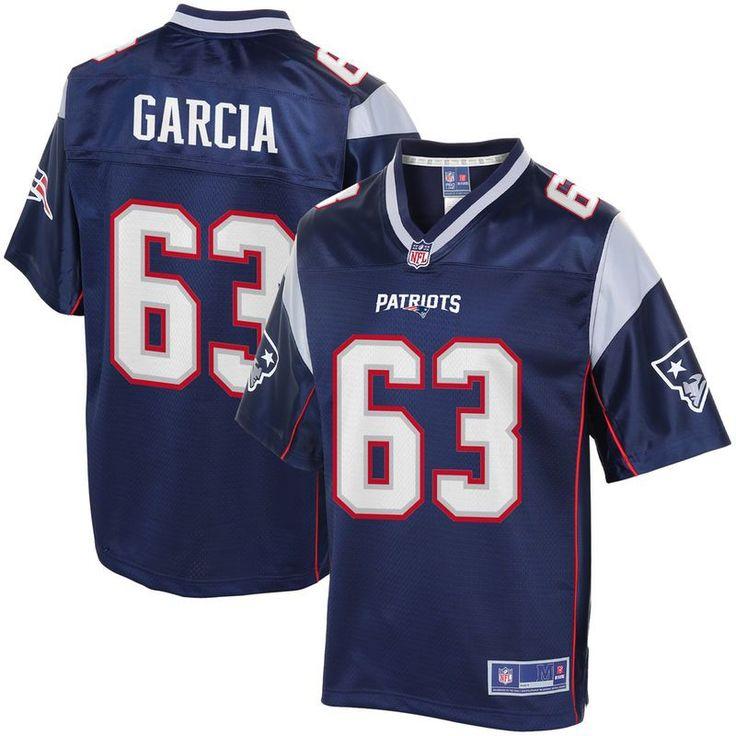 Antonio Garcia New England Patriots NFL Pro Line Youth Player Jersey - Navy