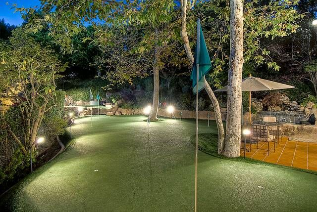 Backyard putting green? yes please!!