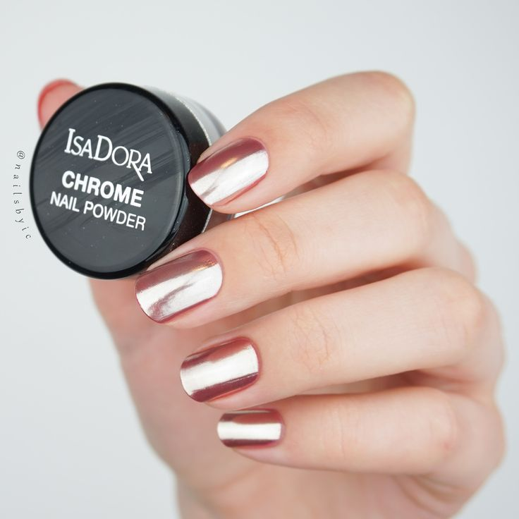 How To Use Chrome Nail Powder Without Gel: Best 25+ Chrome Nail Powder Ideas On Pinterest