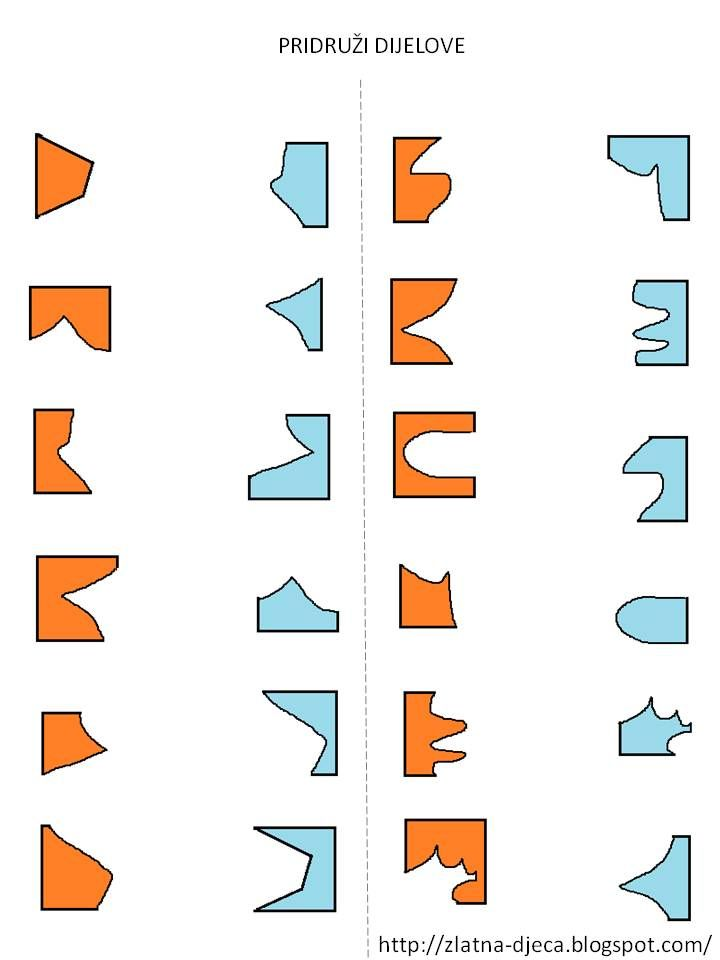 Welke stukken passen in elkaar