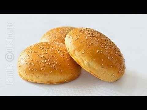 Chifle pentru hamburger - reteta video | JamilaCuisine