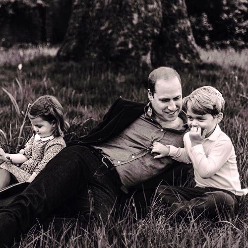 Following his interview with GQ, another family picture of Prince William was released. He is here picture with his two small children, Prince George and Princess Charlotte. This picture is extra special because it is the first time the Prince is pictured together with his two children.