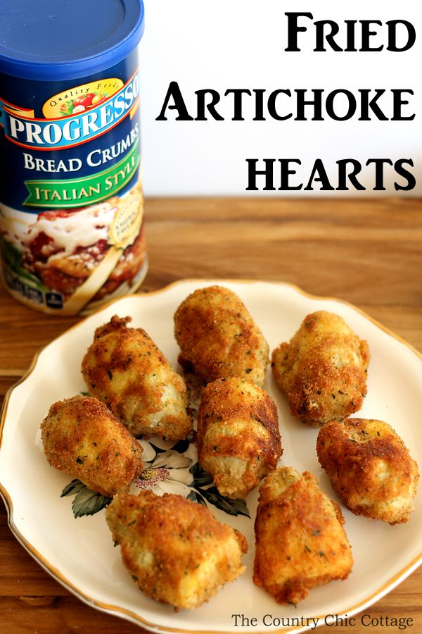 Be sure to make this fried artichoke recipe for your next party! This is one great appetizer that everyone will love!