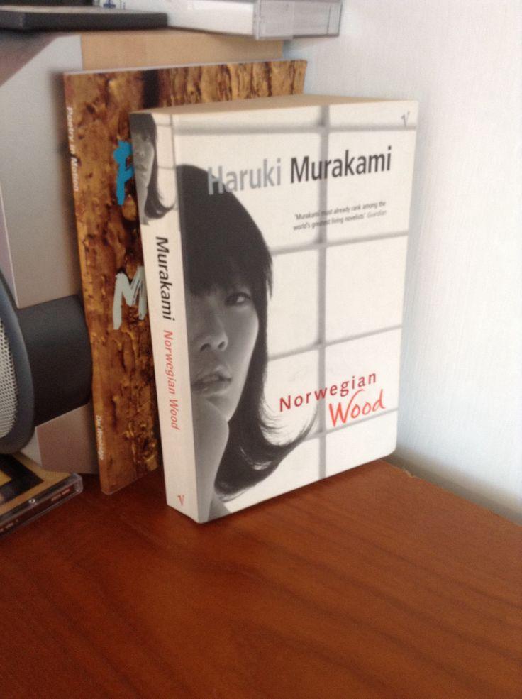 Empty Shelf book 39: Norwegian Wood by Haruki Murakami. Can't really say I enjoyed this one.