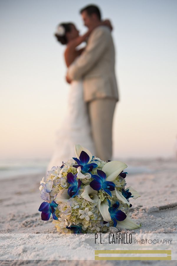 A Sunset Beach Wedding • P.L. Carrillo Photography