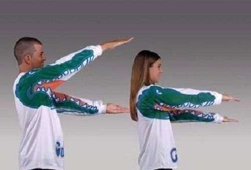 Gator Chomp University Of Florida Gators Long Sleeve Shirt